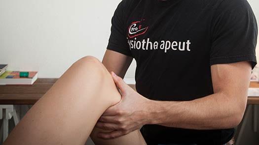 Met knieklachten naar de fysiotherapeut