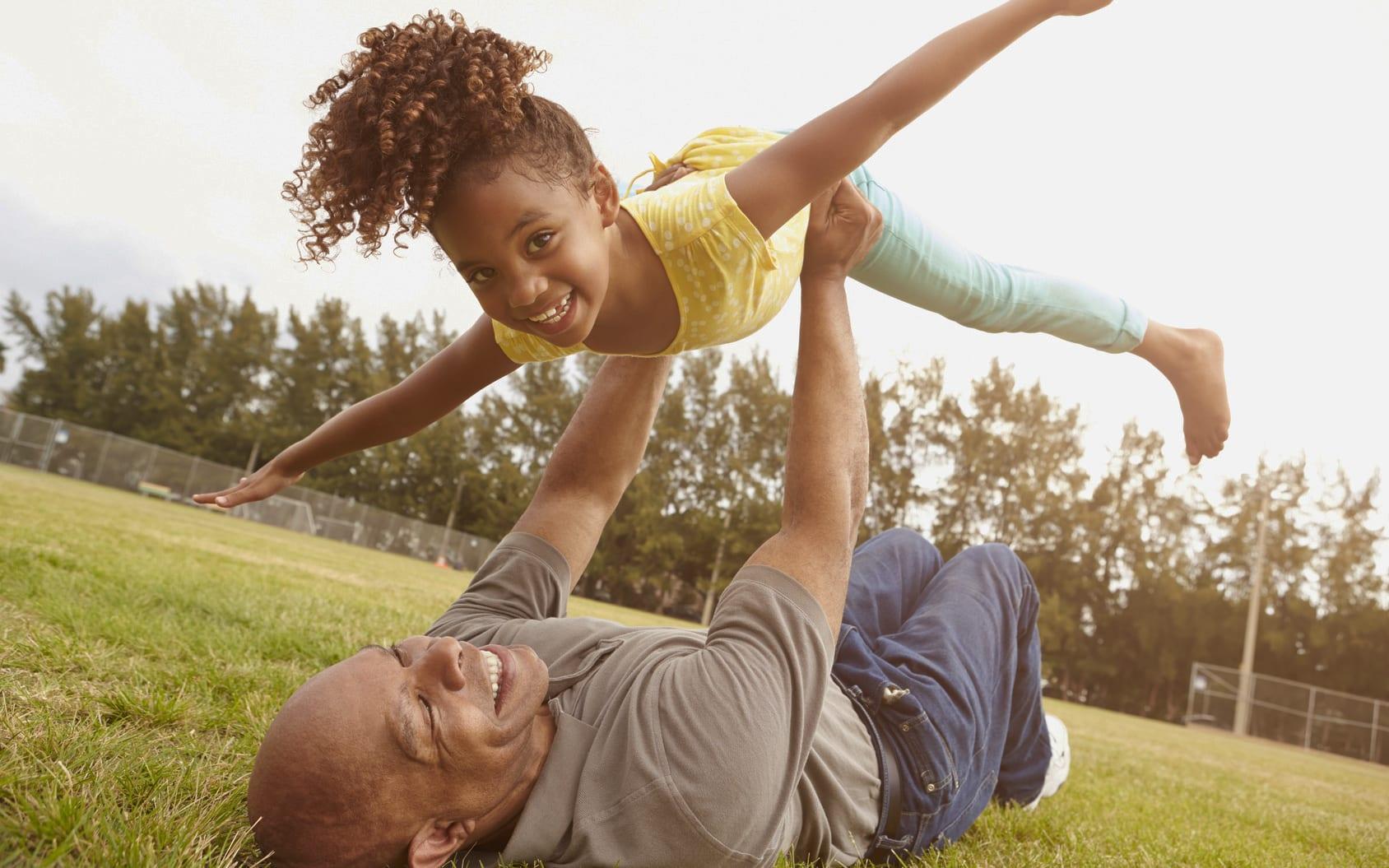 Ravotten met kleinkinderen